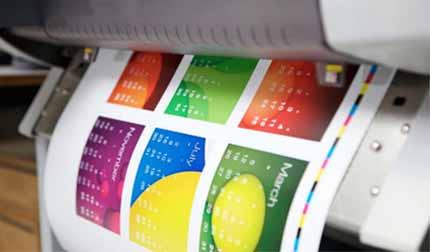 Plotter imprimiendo